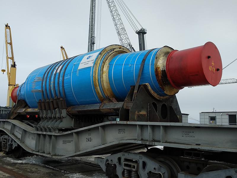 Вал металлический, 223 000 кг